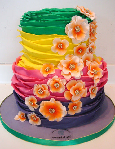 3Layer 6'' + 3Layer 8'', flower theme