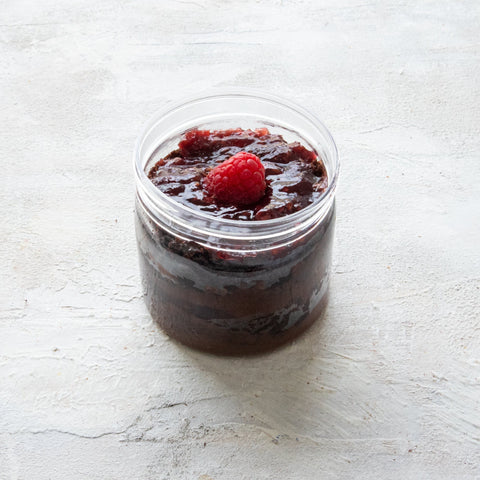 Raspberry Chocolate Pudding