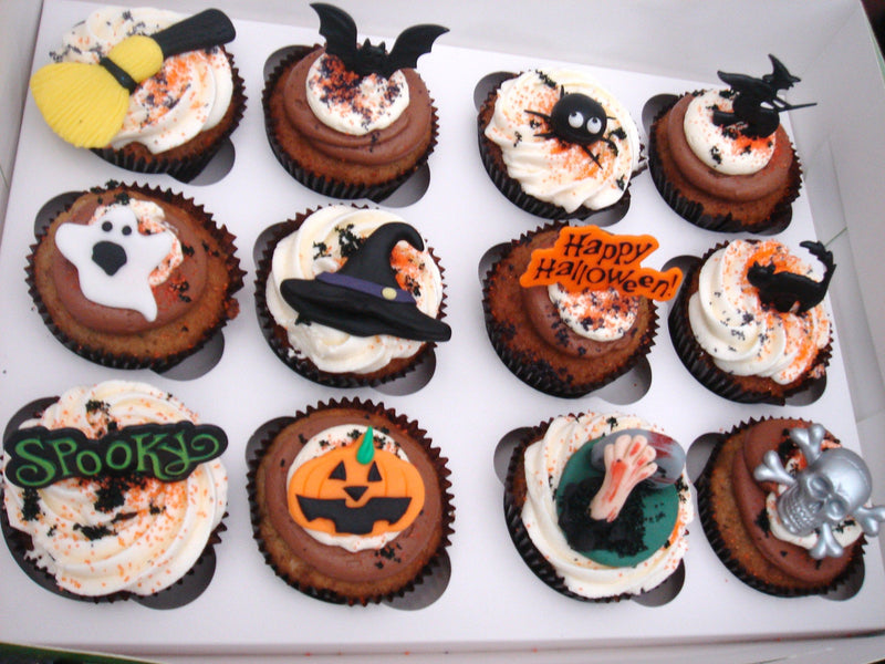 60 pcs regular cupcakes halloween decor