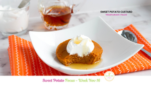 Sweet Potato Custard (Vegetarian | Paleo)