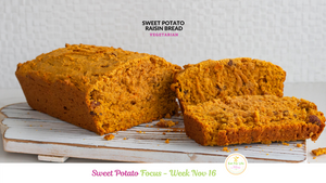 Sweet Potato Raisin Bread (Vegetarian)