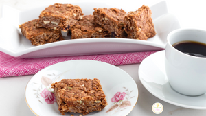 Pumpkin Seed Cranberry Mix Oat Squares (Vegan)