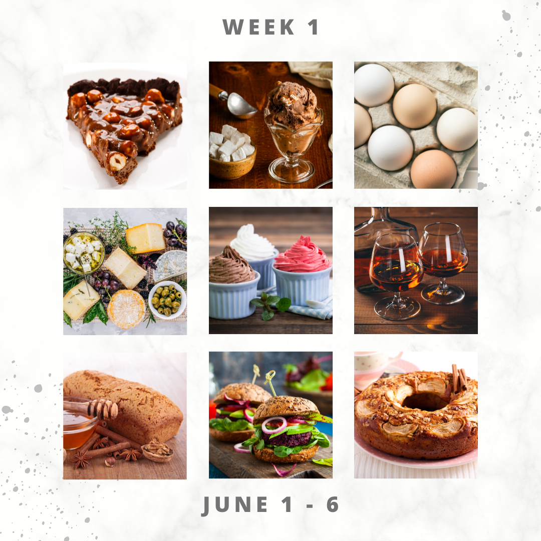 Eat For Life By Marsha - June 2021 Food Days – June 1 to 6