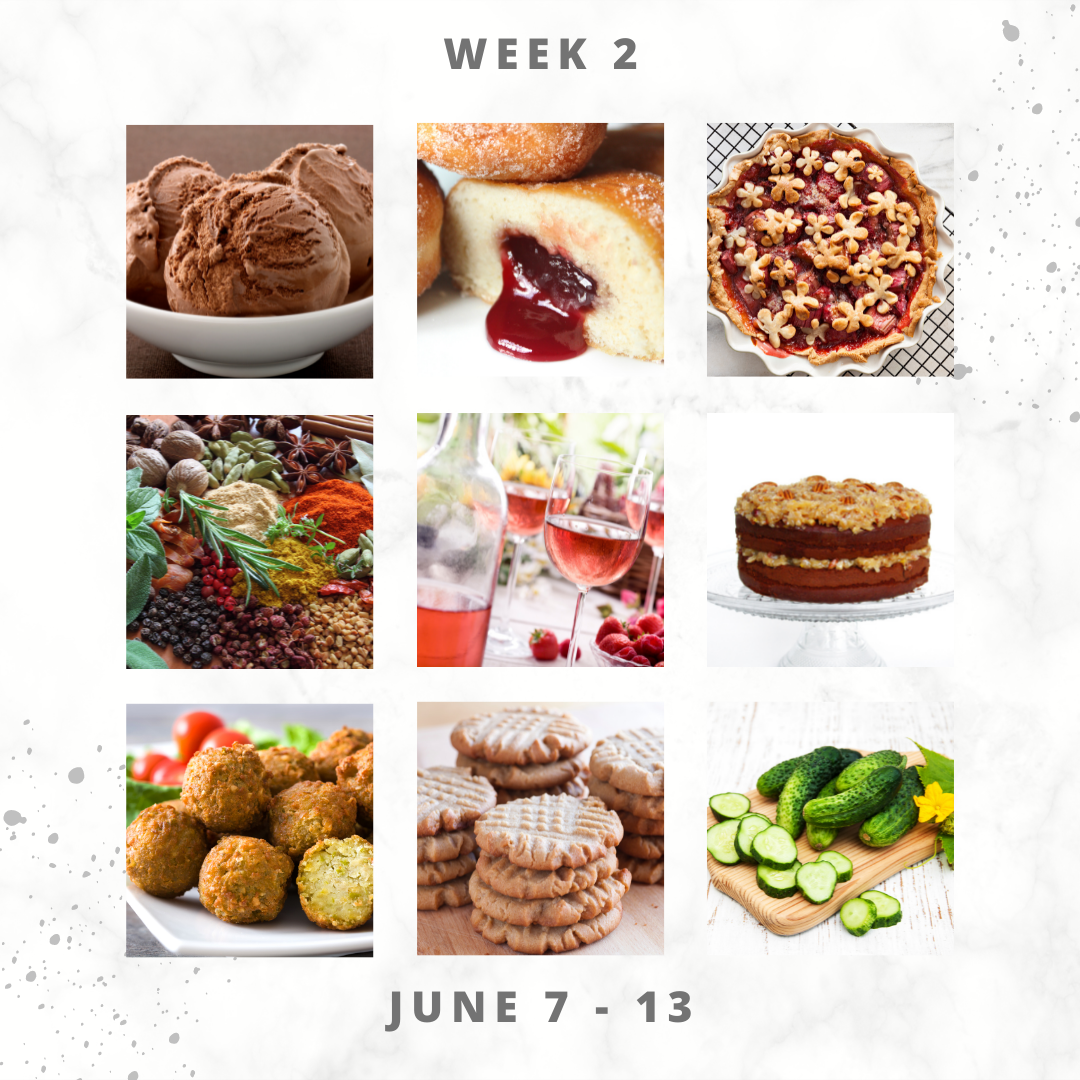 Eat For Life By Marsha - June 2021 Food Days – June 7 to 13