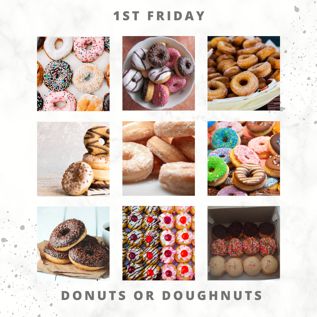 Eat For Life By Marsha - June 2021 Foods - Friday Donuts. Doughnuts