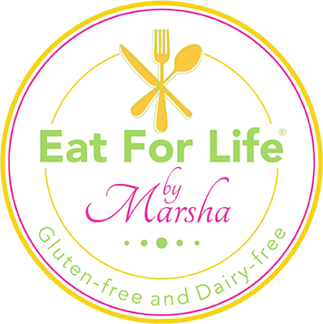 Eat for Life by Marsha logo
