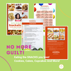 Eat For Life By Marsha - Snackalicious Cookies, Cakes, Cupcakes And More