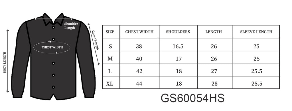 Grey Melange/Black Regular Collar Shirt