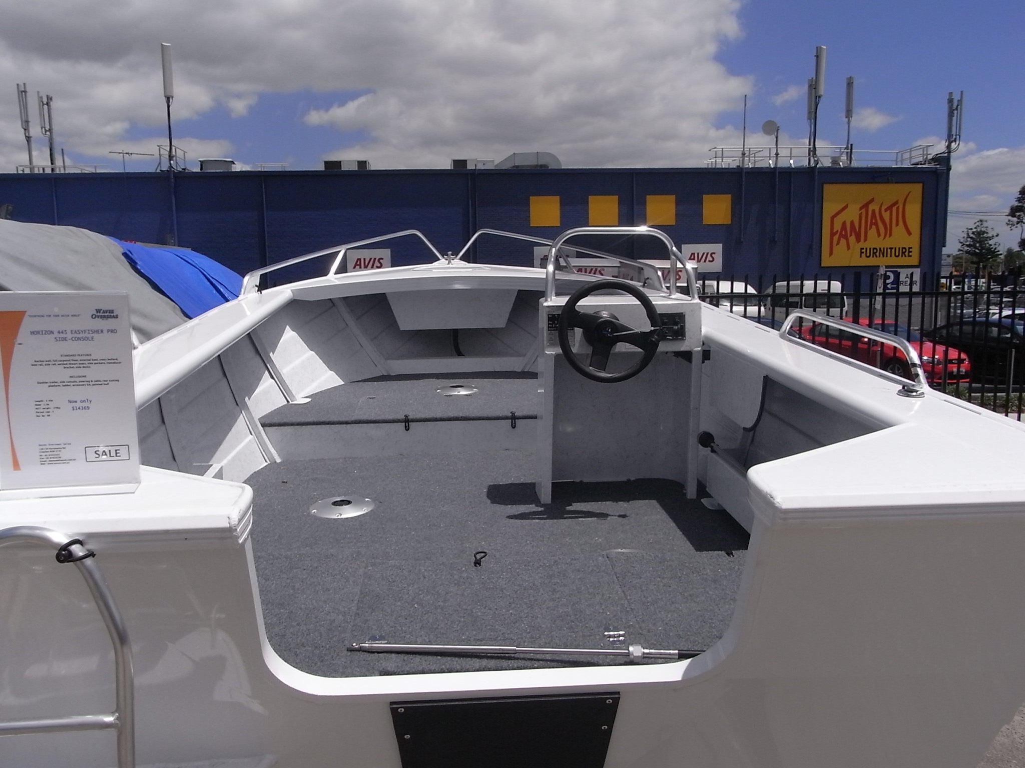 Horizon 465 EasyFisher Centre/Side Console - waves-overseas