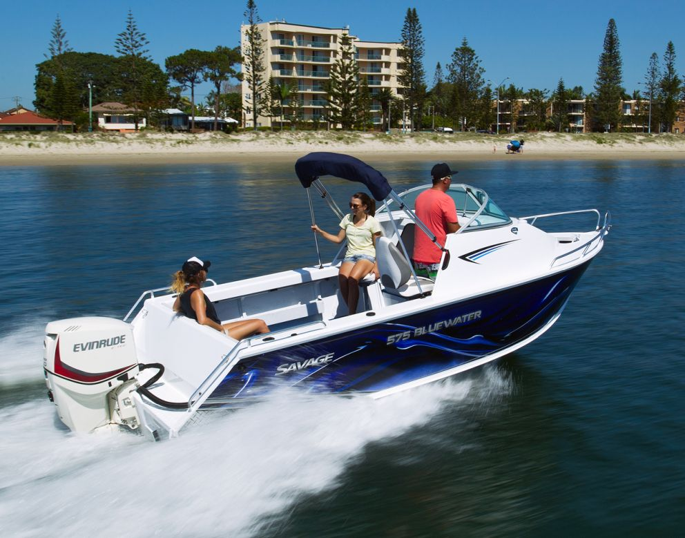 Savage 575 Blue Water
