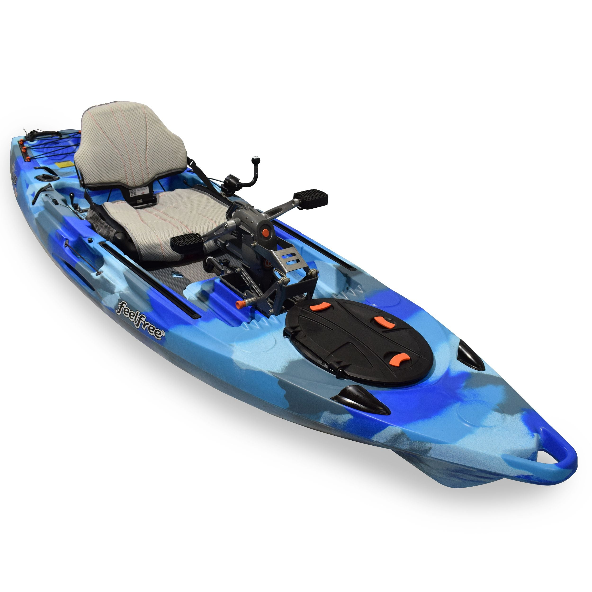 Feel Free Lure 11 5 With Overdrive Waves Overseas Going kayaking pits one person against the elements and often that one person triumphs over the difficult challenges. feel free lure 11 5 v2 with overdrive