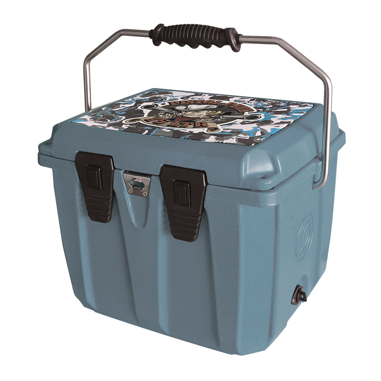 25L Jonny boats edition cooler (Blue grey) - waves-overseas