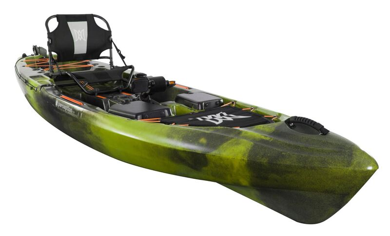 Perception Pescador Pilot 12.0 Pedal Drive fishing kayak