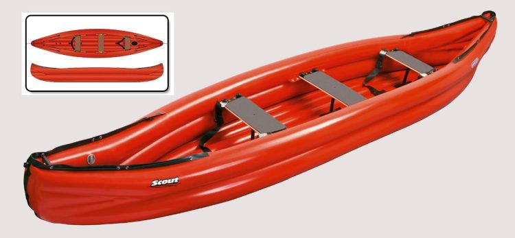 Gumotex Scout Inflatable Canoe - waves-overseas