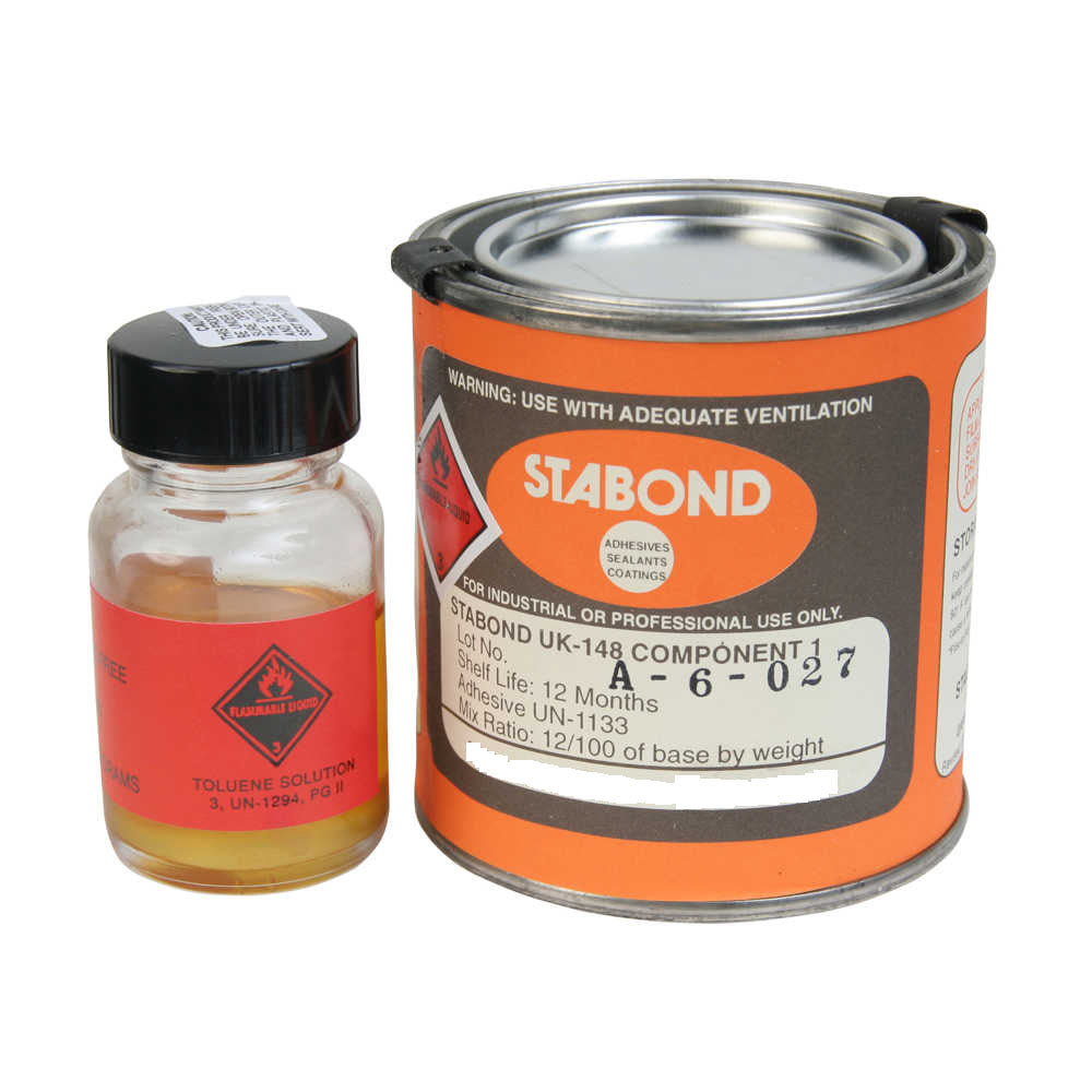 Stabond PVC two part adhesive 1/4 pint