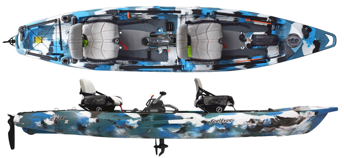 Feel Free Lure II Tandem with Overdrive - waves-overseas