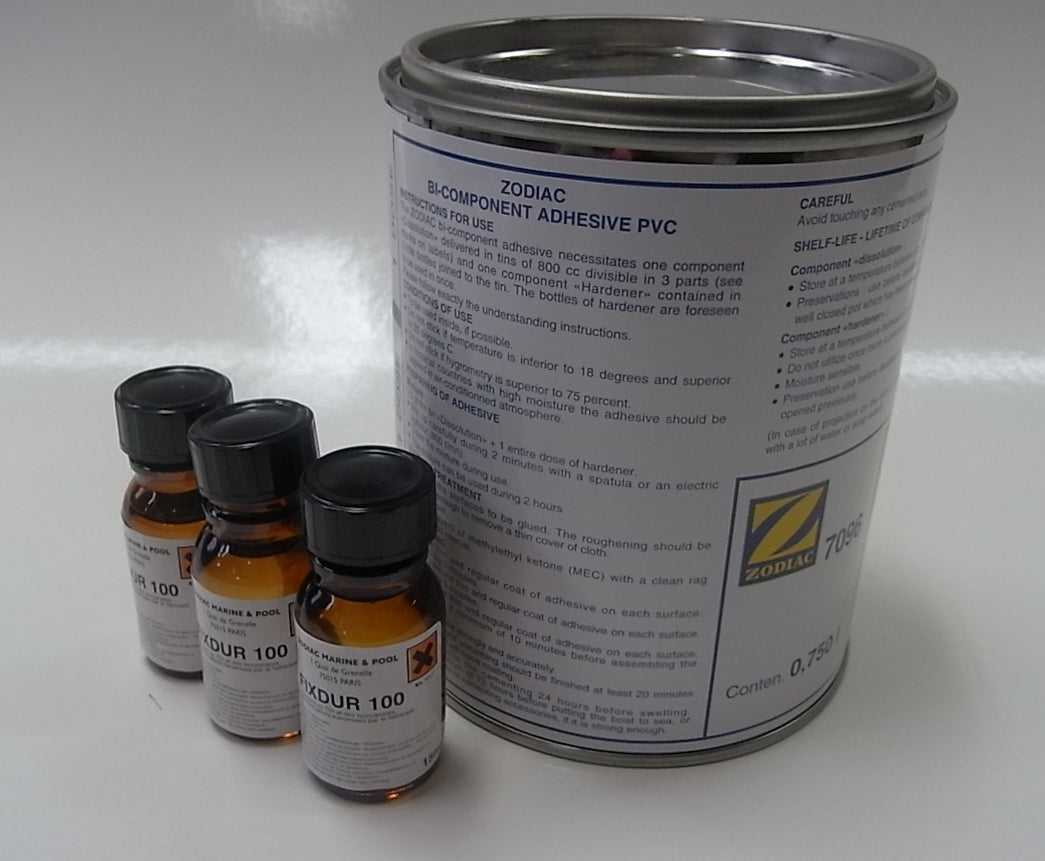 Zodiac PVC two part adhesive - waves-overseas