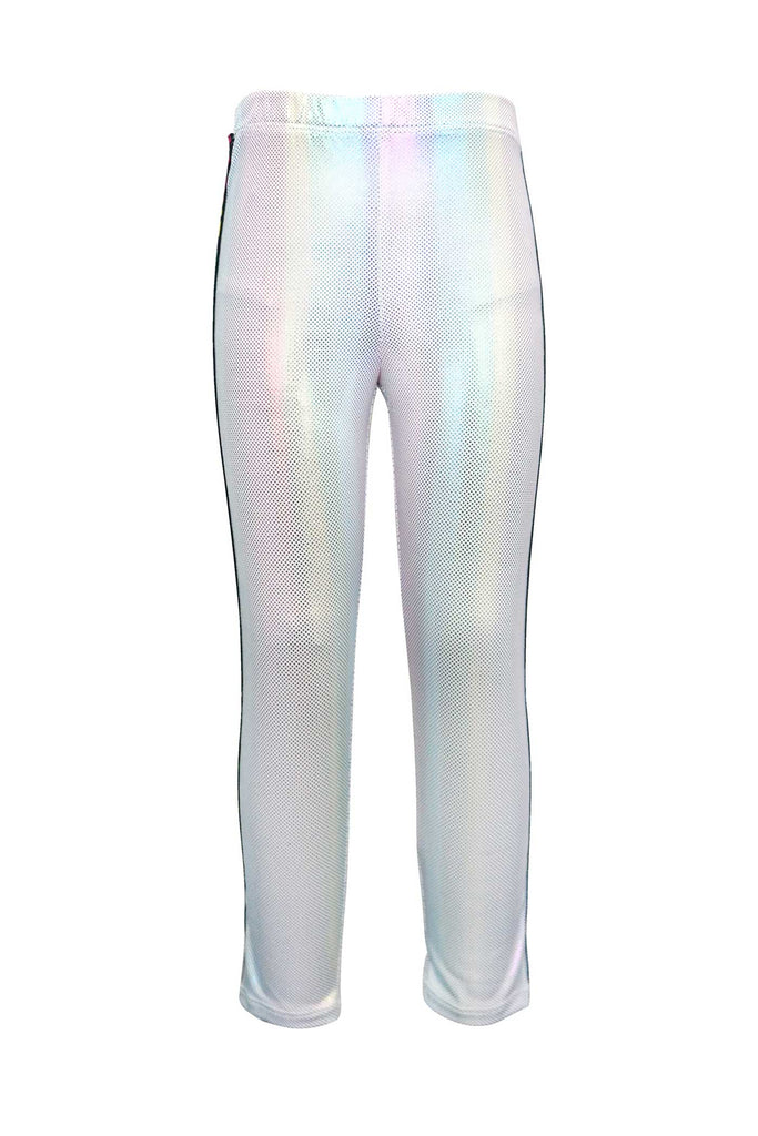 Girls Holographic Leggings