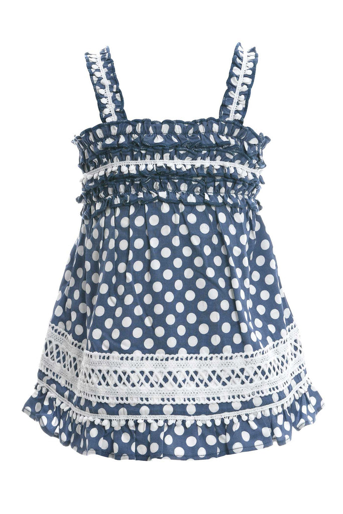 Toddler Girls Little Girls Polka Dot Sundress