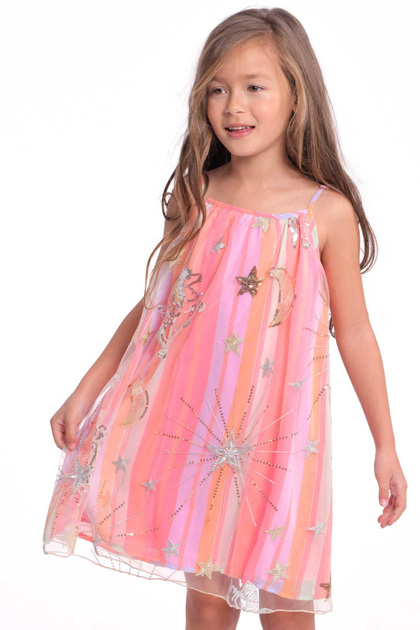 Toddler Girls Little Girls Unicorn Slip Dress