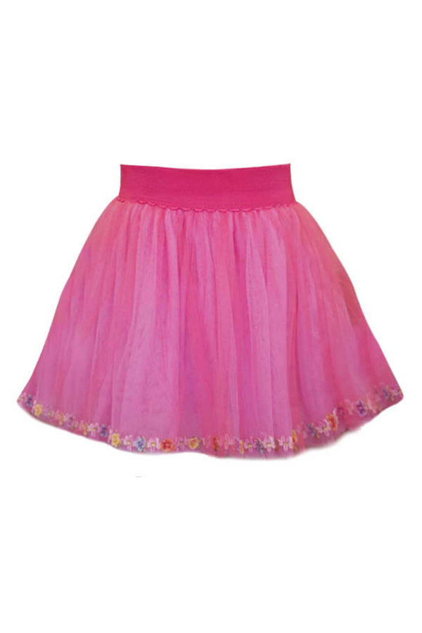 Hannah Banana Toddler Girls Pink Tutu Skirt