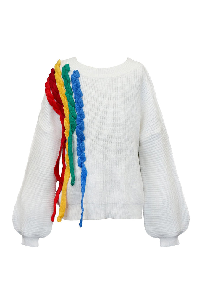 RAINBOW LOOSE FIT SWEATER