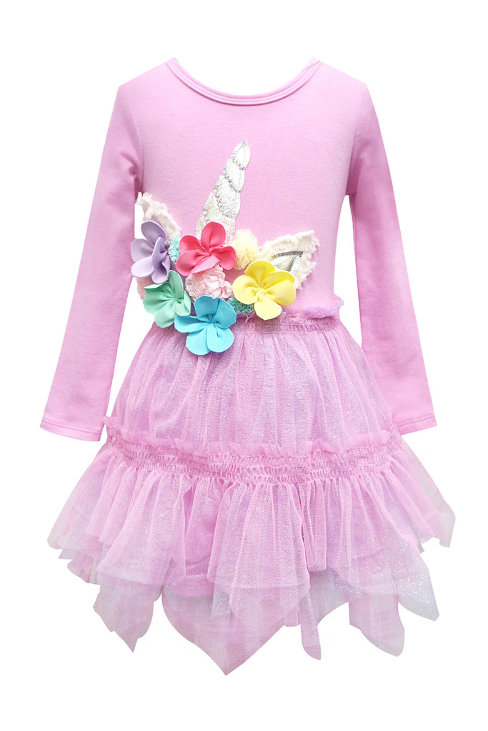 Baby Sara Baby Girls Unicorn Tutu Dress