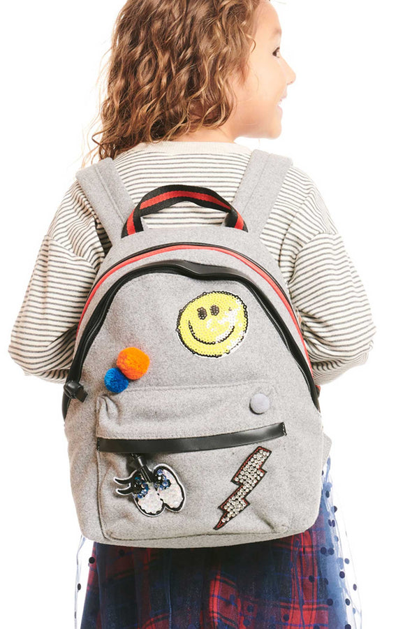Hannah Banana Girls Playful Patch Backpack
