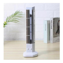 Carregar imagem no visualizador da galeria, Mini Ventilador Vertical Torre Usb + Abajur Led De Mesa Pc