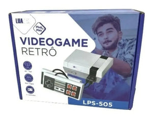 Video Game Super Mini, 620 Jogos 8 Bits 2 Controles