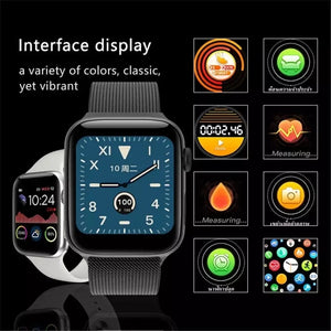 Relógio Inteligente W68 Smartwatch 44mm Iwo12 Lite Original
