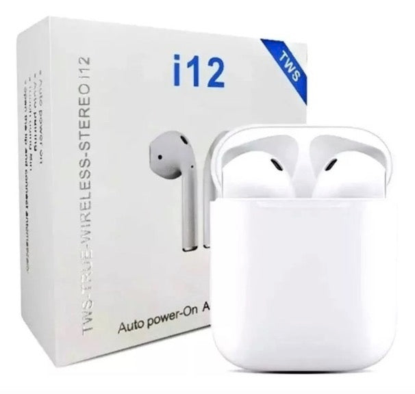 Fone De Ouvido I12 Tws 5.0 Par AirPods Touch Android Ios