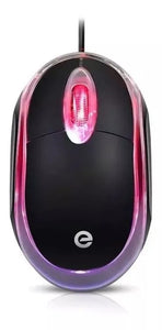 Mouse Usb, Óptico Com Led Exbom, Ms-9