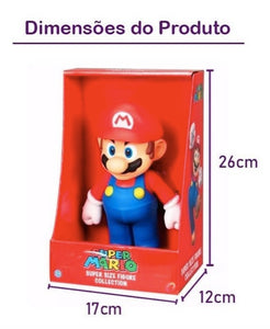 Boneco Mario Bros 23cm Action Figure Original