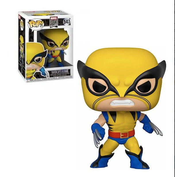 Funko Pop Wolverine #547 X Men Marvel 80th First Appearanc