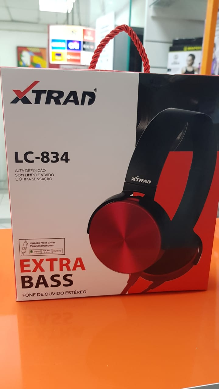 HeadPhone Xtrad LC-834