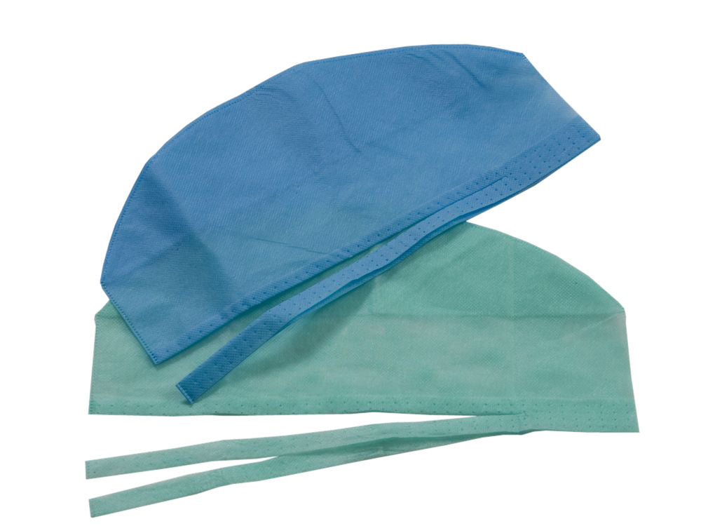 CENTAGOWN Tie-Back Surgical Cap - Box 100