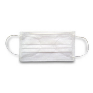 3-Ply Type IIR White Face Mask - 250 masks **SPECIAL PURCHASE**