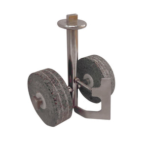 Cylindrical Roller Stone Assembly With SS Wiper for Mini Drum