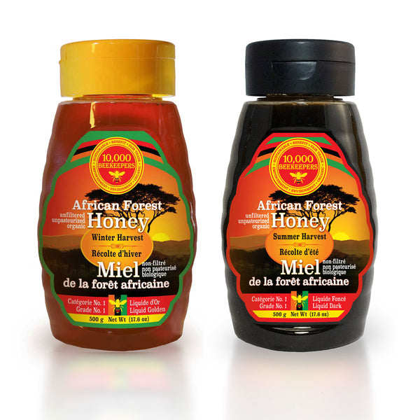 Summer and Winter Harvest Bundle - 500 g - African Forest Honey