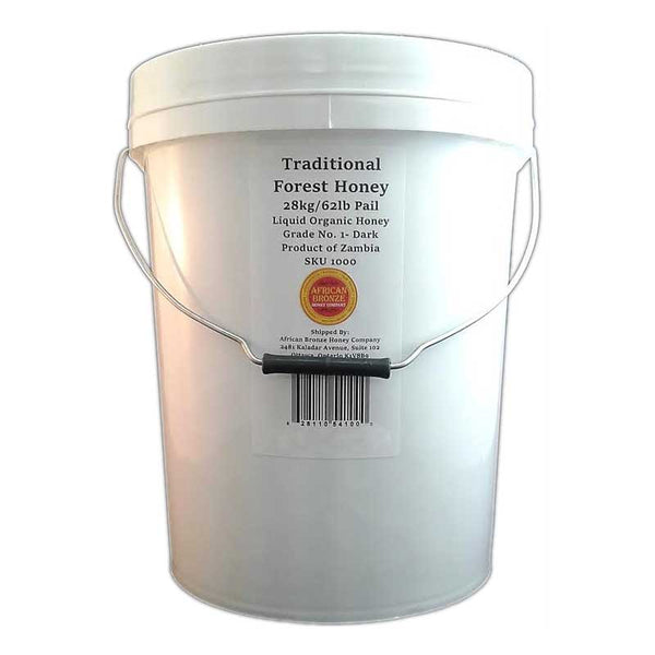 Traditional Harvest Honey - Bulk 62 lb / 28 kg Pail (USA)