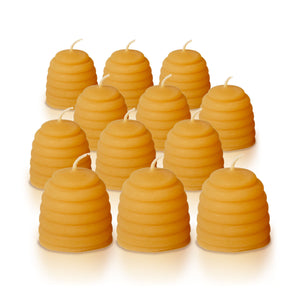 Beehive Candles - Bundle of 12