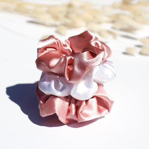 Satin me up scrunchies