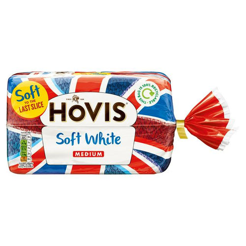 hovis sliced white bread loaf
