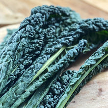 Load image into Gallery viewer, cavolo nero on a wooden board