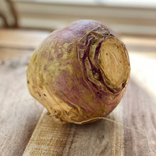 Load image into Gallery viewer, raw swede on a wooden board