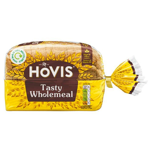 Hovis wholemeal bread sliced loaf