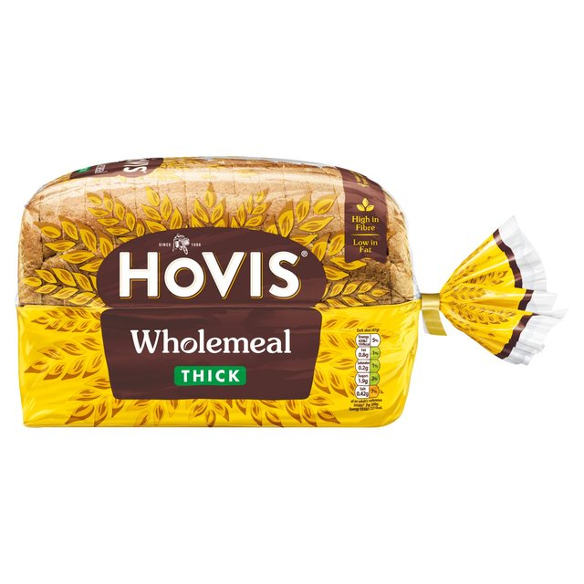 Bread Hovis Wholemeal Thick Sliced Loaf