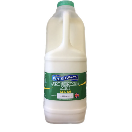 carton of semi skimmed milk