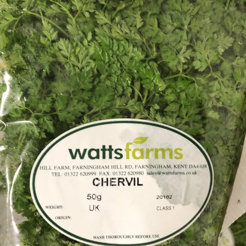 packet of chervil